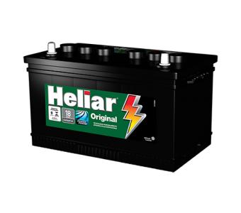 Bateria Heliar Original 75AH - HG75LD/LE - Original de Montadora