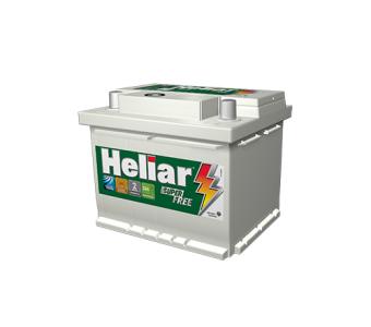 Bateria Heliar Super Free 52Ah - HF52GD - Original de Montadora