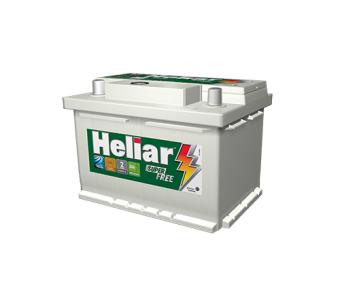 Bateria Heliar Super Free 65Ah - HF65HD - Original de Montadora