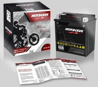 Bateria Motorlight para Motos - Todos os modelos