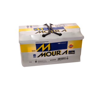 Bateria Moura 100Ah - M100QD - Original de Montadora