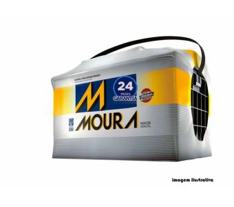 Bateria Moura 60Ah - M60GD/E - M60AX - Original de Montadora