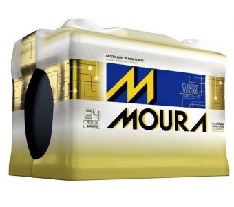 Bateria Moura AGM - MA60AD/ MA70LD/ MA80CD/ MA92QD / MA105DD - Original de Montadora