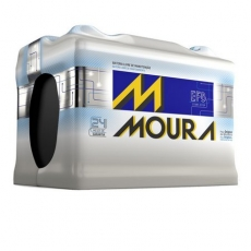 Baterias Moura EFB - MF60AD / MF72LD - Original de Montadora